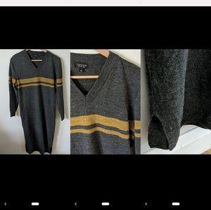Topshop varsity sweater dress